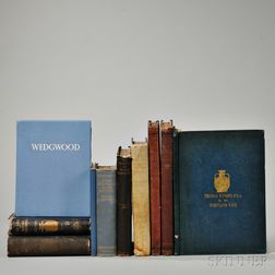 Ten Wedgwood-related Reference Books