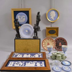 Twenty-three Modern Wedgwood Jasper Items