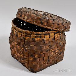 Mohawk Covered Basket