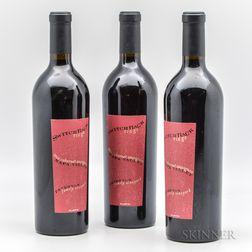 Switchback Ridge Peterson Family Vineyard Cabernet 2002, 3 bottles