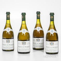 Chateau de Meursault Meursault 1985, 4 bottles