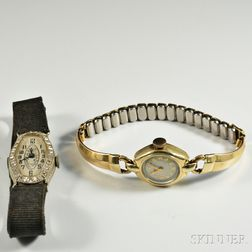 Two Lady's Wristwatches