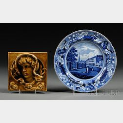 Two Commemorative Ceramic Items