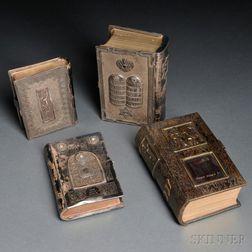 Silver-bound Bible Presented to Nahum Goldmann