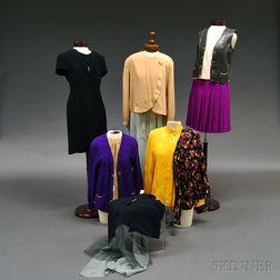 Group of Celine and Giorgio Armani Lady's Fashions