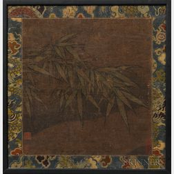 Painting Depicting Bamboo