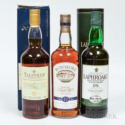 Mixed Single Malt Scotch, 5 750ml bottles