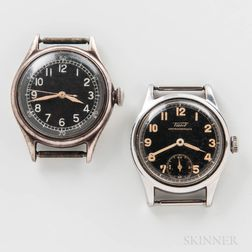 Bulova Type A-II Pilot's Watch and a Black Dial Tissot