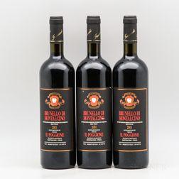 Il Poggione Brunello di Montalcino 2001, 3 bottles