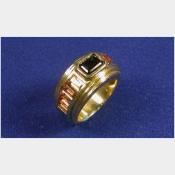 *18kt Gold and Gem-set Ring,  B. Kieselstein-Cord
