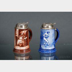Two Ceramic Art Co. Porcelain Steins