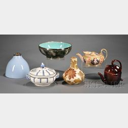 Six Assorted Wedgwood Items