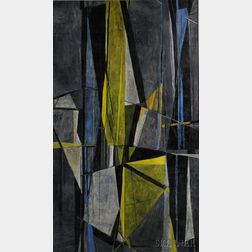 Robert Fremont Conover (American, 1920-1998)      Night Shapes