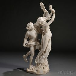 Continental School, Late 19th/Early 20th Century       Apollo and Daphne