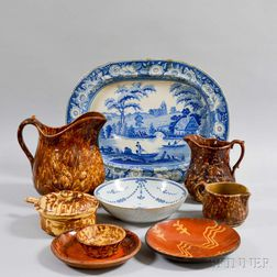Group of Assorted Pottery Items