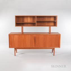 Faarup Mobelfabrik Sideboard and China Cabinet