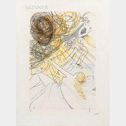 Salvador Dalí (Spanish, 1904-1989)      Hommage à Mercure