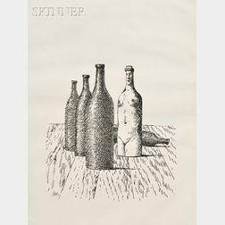René Magritte (Belgian, 1898-1967)      La Comtesse de Monte Cristo