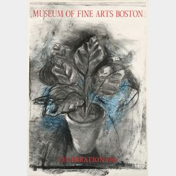 Jim Dine (American, b. 1935)      Museum of Fine Arts Boston Celebration 1981