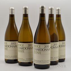 Ridge Chardonnay Estate, 5 bottles