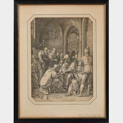 Hendrik Goltzius (Dutch, 1558-1617)      The Circumcision