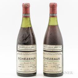 Domaine de la Romanee Conti Echezeaux 1978, 2 bottles