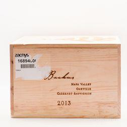 Joseph Phelps Cabernet Sauvignon Backus Vineyard 2013, 6 bottles (owc)