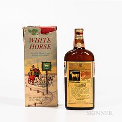 White Horse Cellar, 1 4/5 quart bottle (oc) Spirits cannot be shipped. Please see http://bit.ly/sk-spirits for more info.