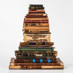 Twenty-seven 19th and 20th Century Atlases