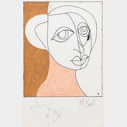 Kurt Vonnegut Jr. (American, 1922-2007)      Helen