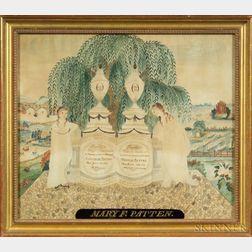 Watercolor Memorial Picture