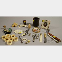 Group of Miscellaneous Collectible and Domestic Articles