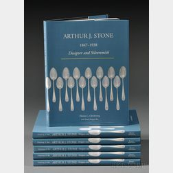 Six Arthur Stone Reference Books