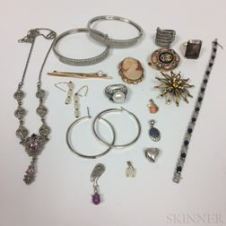 Group of Assorted Jewelry and Costume Jewelry