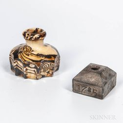 Two Early Inkwells