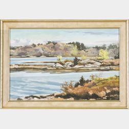 Norman Ringdahl, (Massachusetts), Coastal Inlet