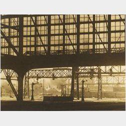 Morton Bartlett (American,  1909-1992)  Lot of Ten Photographic Landscape Views.