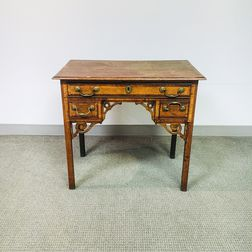 Georgian Oak Dressing Table