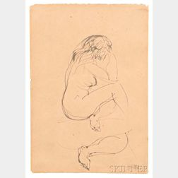 Raoul Dufy (French, 1877-1953)    Nu de Dos