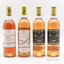 Bordeaux Sweet Wine, 4 bottles