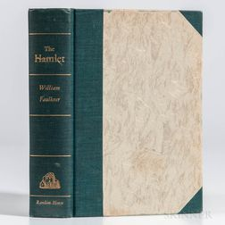 Faulkner, William (1897-1962) The Hamlet  , Signed Limited Edition.