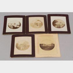 Five Early Kodak Photographs