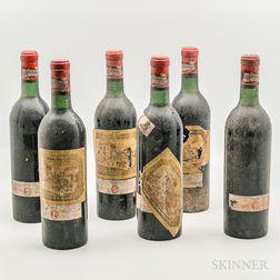 Chateau Ducru Beaucaillou 1967, 6 bottles