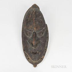 New Guinea Wood Mask