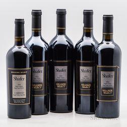 Shafer Cabernet Sauvignon Hillside Select, 5 bottles