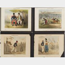 Cham (Amédée Charles Henri) (French, 1819 - 1879)  Lot of Twenty-one images