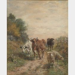 Charles Franklin Pierce (American, 1844-1920)    A Country Road