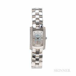 Baume & Mercier Hampton Milleis 18kt White Gold and Diamond Wristwatch