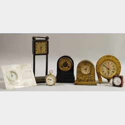 Group of Seven Clocks