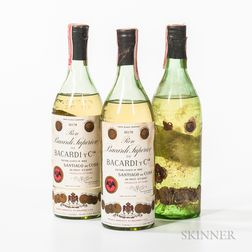 Bacardi Carta Blanco, 3 4/5 quart bottles